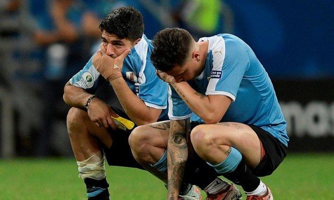 Луис Суарес подвел уругвайцев