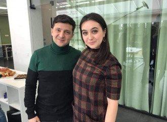 Владимир Зеленский и Юлия Мендель