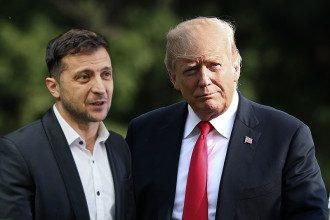 Владимир Зеленский и Дональд Трамп
