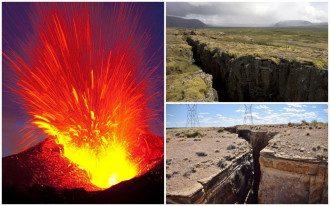 В США проснулся страшный вулкан