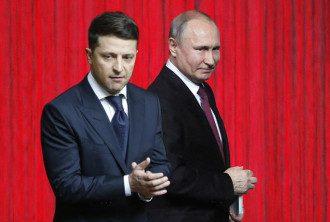Зеленский — Путин — Переговоры Владимир Зеленский главы — Владимир Путин врядли будут успешными для Украины, полагает британский политик