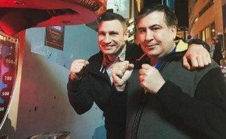 Виталий Кличко и Михаил Саакашвили решили объеденить свои силы к парламентским выборам