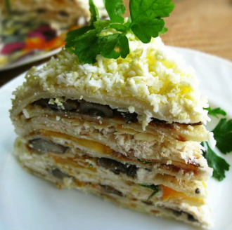 Кабачковый торт — Собраны классные рецепты кабачкового торта с овощными начинками