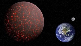 Луну заменит планета X