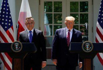 Дуда Трамп Польша США