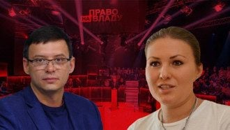 Мураев и Федина устроили конфликт на политическому ток-шоу / Фото: коллаж 24 канала