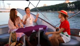 Кучеренко и Комаров стали мужем и женой / Фото: скриншот из видео