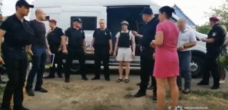 Тарасова привезли для следственного эксперимента / Фото: скриншот из видео