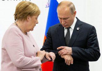 Владимир Путин и Ангела Меркель поговорили об имплементации