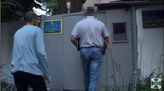 СБУ показала оперативное видео задержания Великого / Фото: скриншот из видео