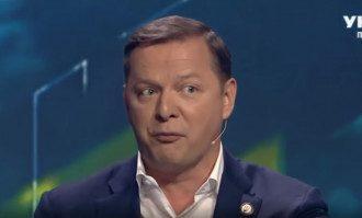 Ляшко и Саакашвили поругались в прямом эфире