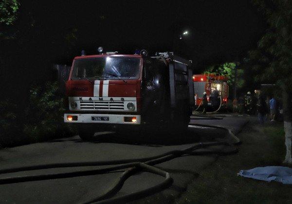 Пожар в Одессе — В Одессе произошел пожар в психбольнице, четыре жертвы
