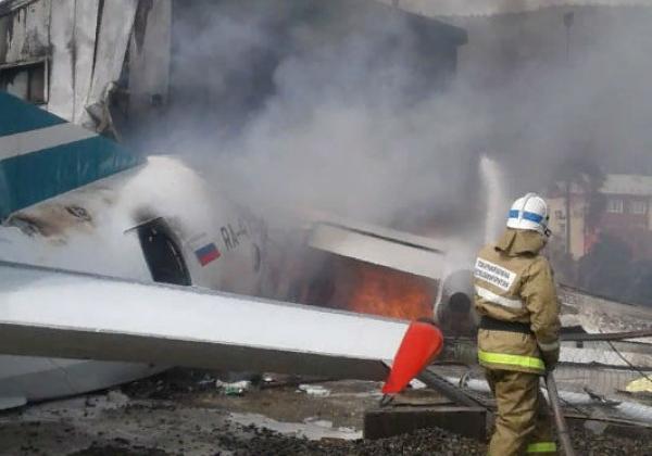 Новости России — Первичная причина крушения Ан-24 — отказ левого двигателя, узнали журналисты