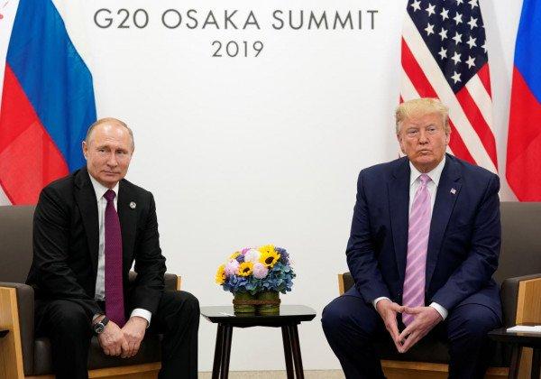 Встреча Трампа и Путина — Дональд Трамп встретился с Владимиром Путиным в Осаке