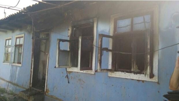 В доме сгорели четыре девочки