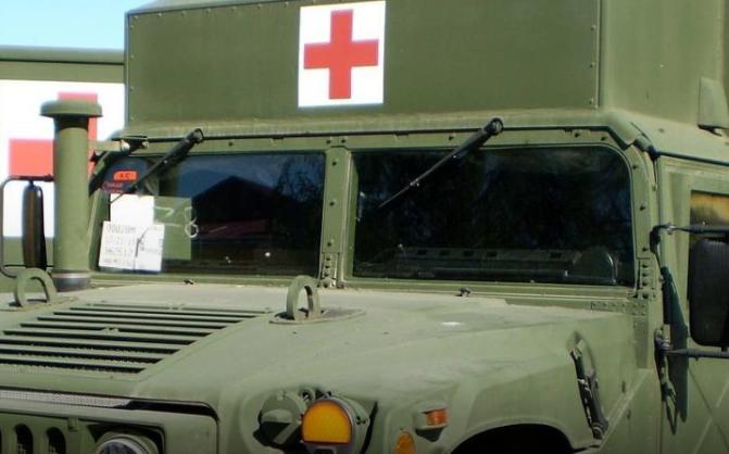 ООС на Донбассе — Возросло количество жертв коварного обстрела санитарного Хаммера под Мариуполем