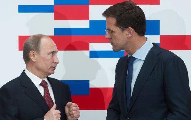 Рютте и Путин
