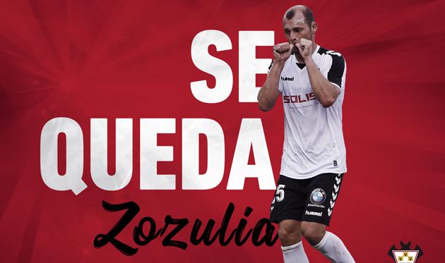 Роман Зозуля продолжит играть в Испании