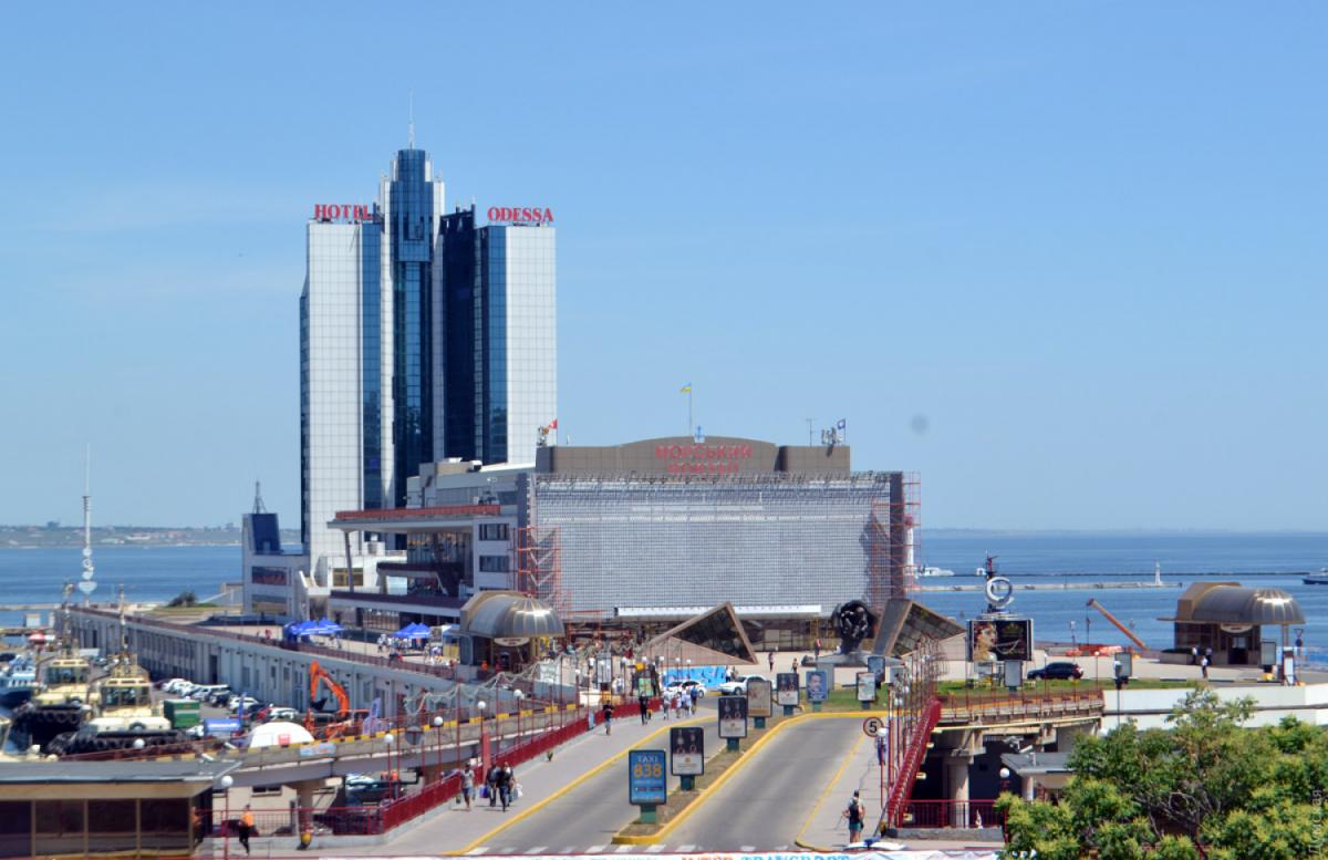 Одеса, морський вокзал