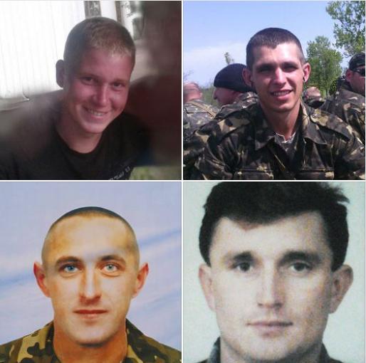 Убитые бандой Цемаха украинские военные / Фото: Facebook/Юрий Бутусов