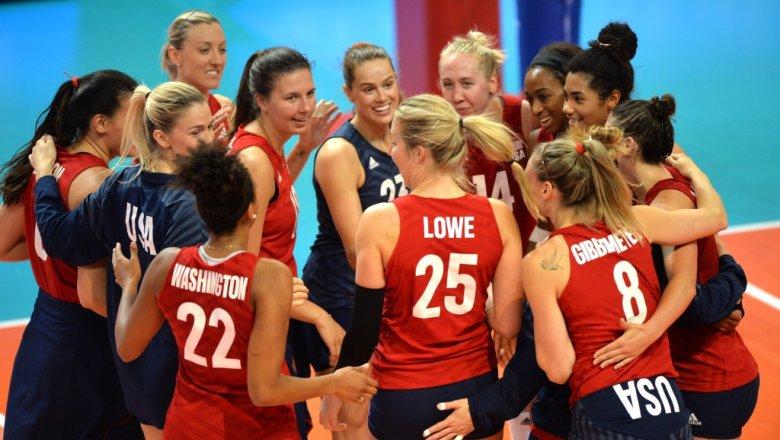 Женскую Лигу наций выиграли волейболистки США