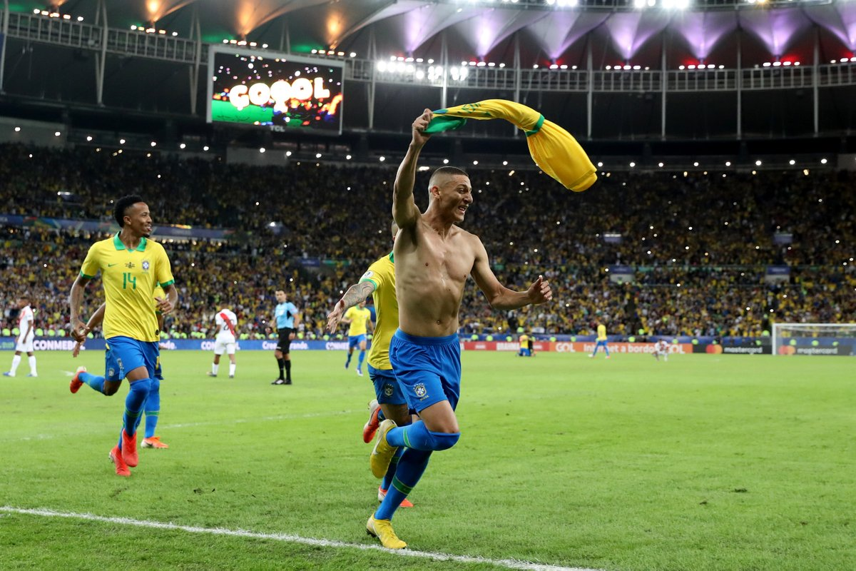 Бразилия завоевала Кубок Америки