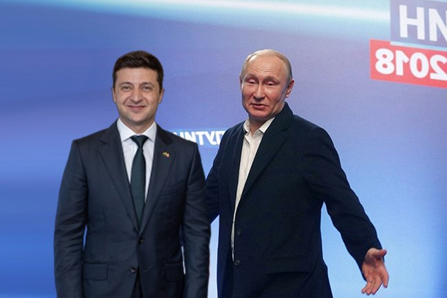 Зеленский и Путин впервые пообщались лично