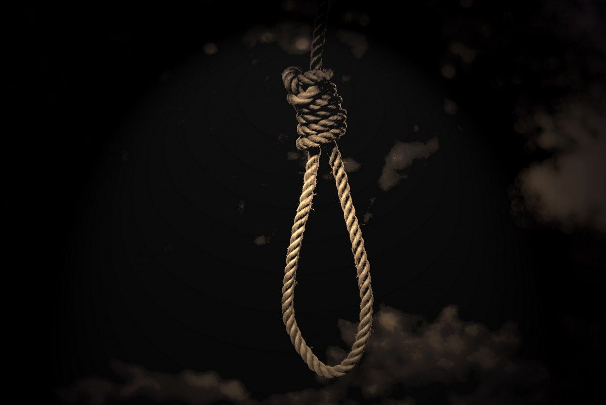 самоубийство, зашморг