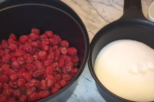 Варенье из малины с целыми ягодами просто варить