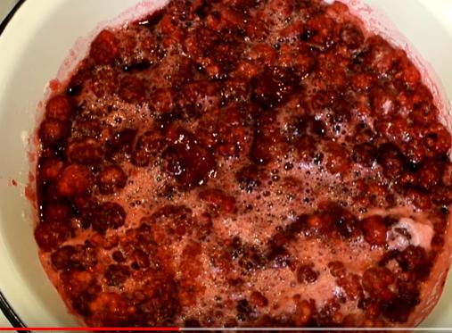 Малиновое варенье пятиминутка готовится считанные минуты