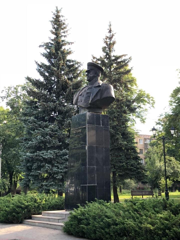 памятник Жукову, Харьков