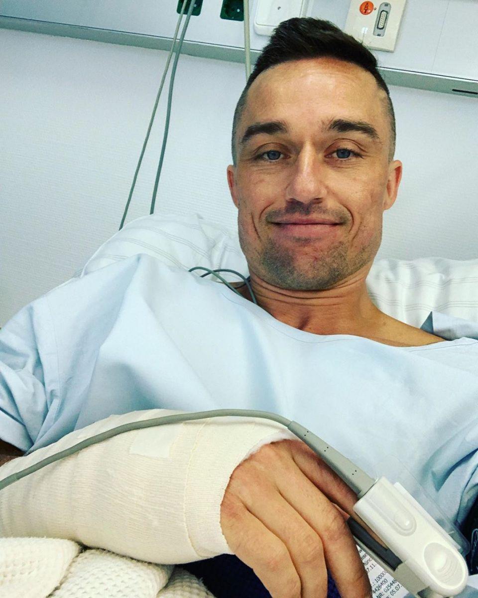 Александр Долгополов продолжает бороться с травмой