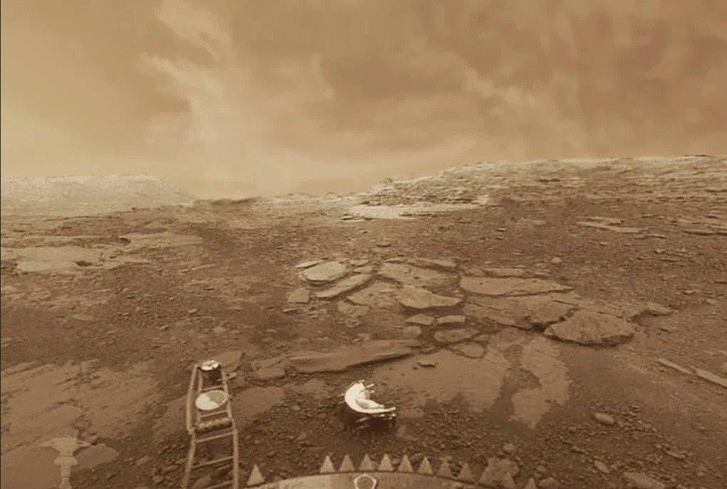 Возможно, последняя фотография поверхности Венеры / vladtime.ru