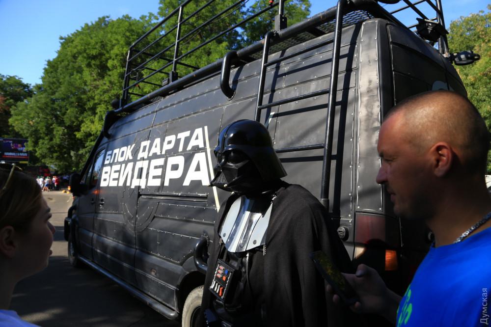 ЦИК Украины продемонстрировал  лицо кандидата в народные избранники  Дарта Вейдера
