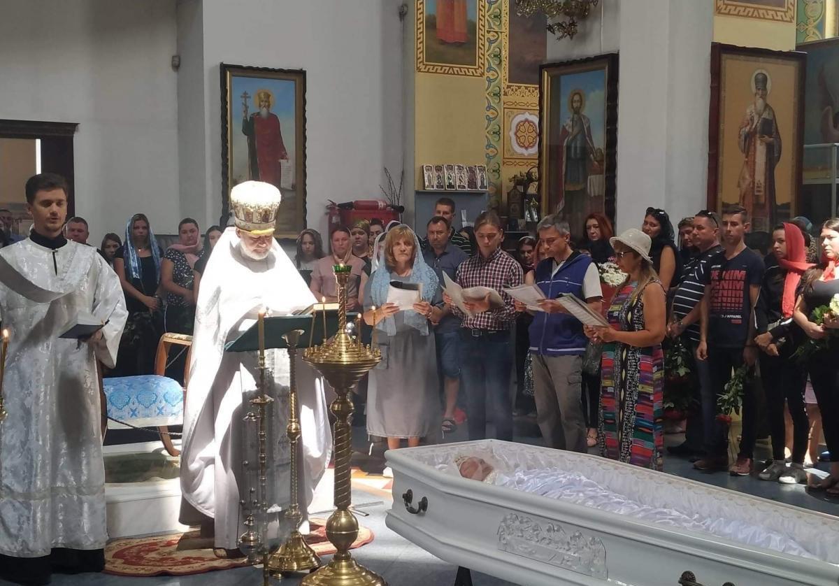 Настя Ковалева, похороны