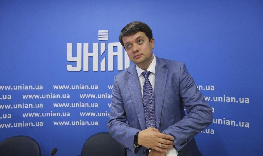 Разумков - В партии Слуга народа рассказали о своих первых действиях в Раде