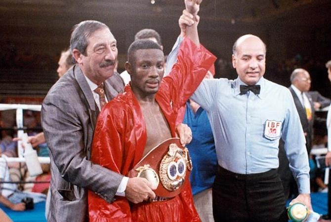В ДТП погиб известный американский боксер