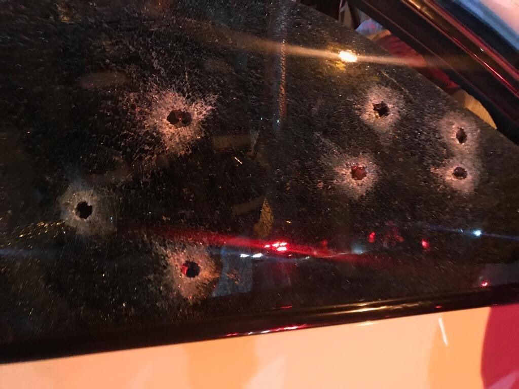 Киллеры расстреляли авто Марка Батчелора