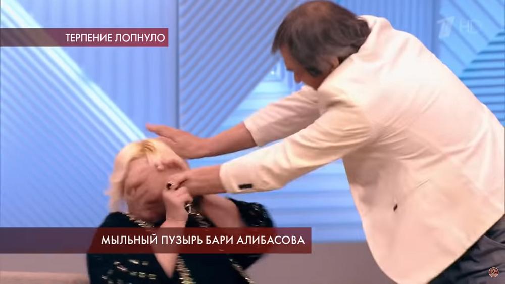 Алибасов напал