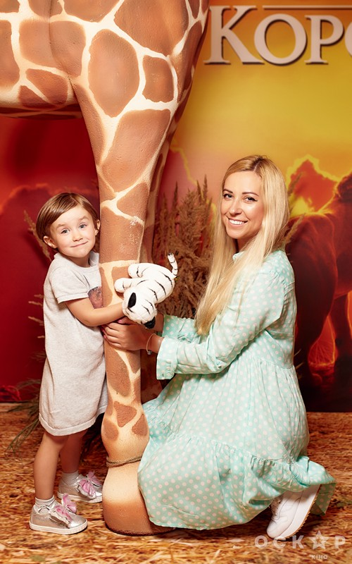 Тоня Матвиенко с дочкой