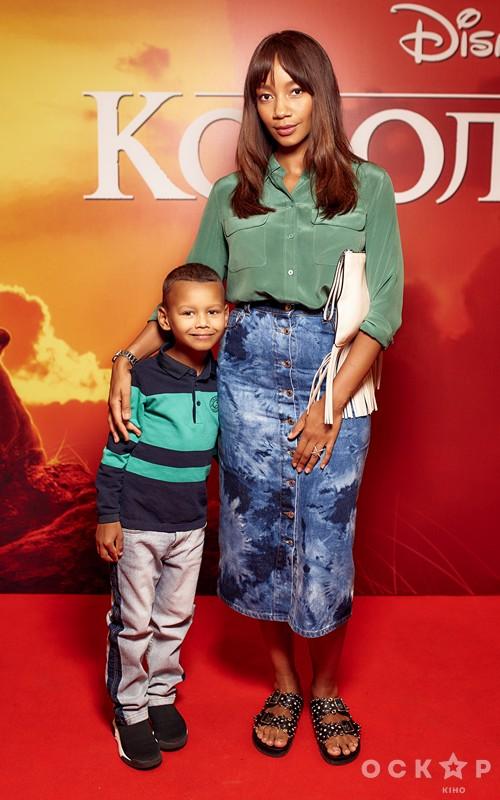 Виктория Батуи с сыном