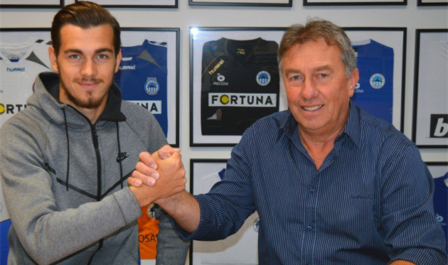 Тарас Качараба подписал контракт со Слованом
