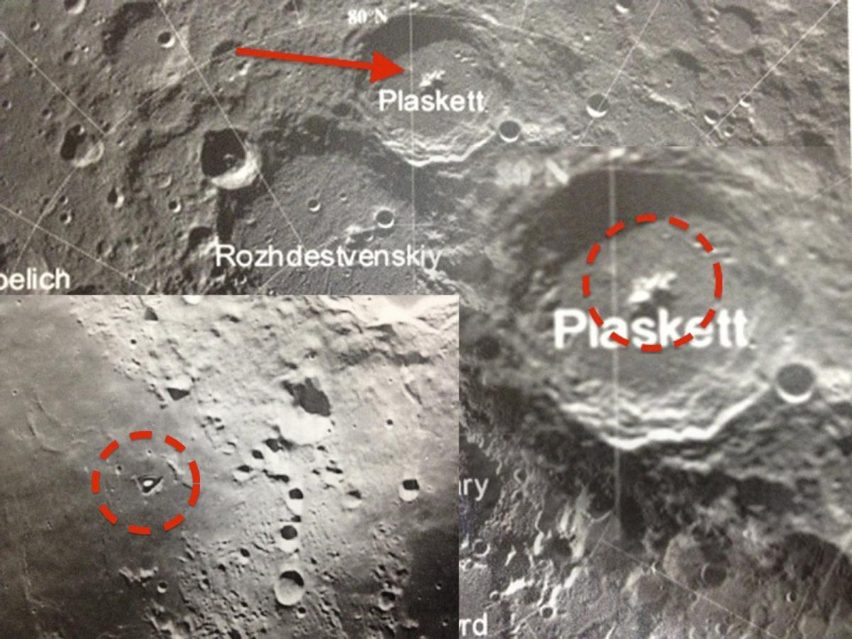 База Нибиру на Луне