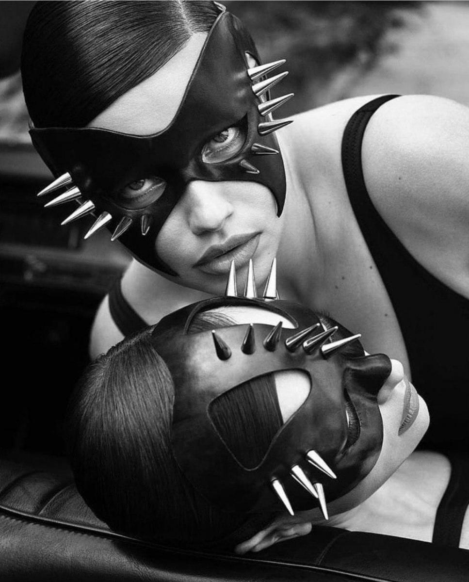 Ирина Шейк и Адриана Лима для Vogue Spain