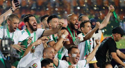 Алжир выиграл Кубок Африки