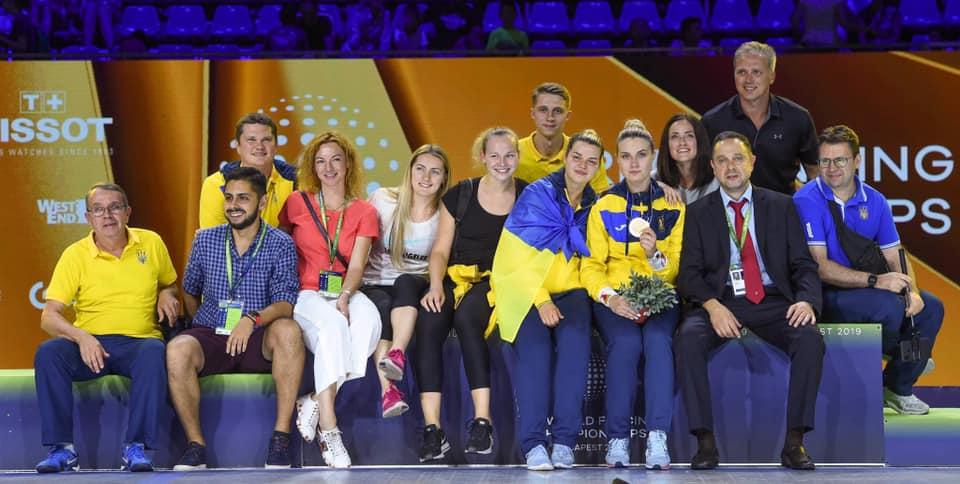 Ольга Харлан после победы на чемпионате Мира