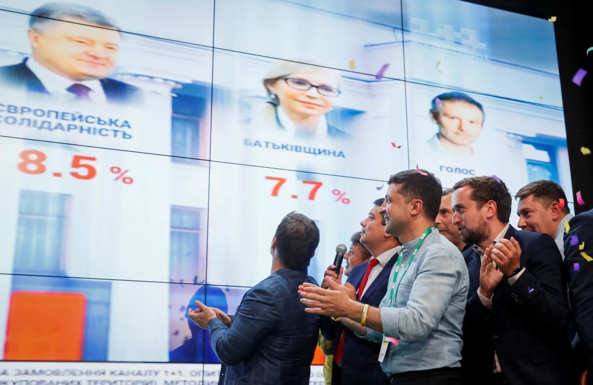 Штаб Зеленского, выборы в Раду 2019