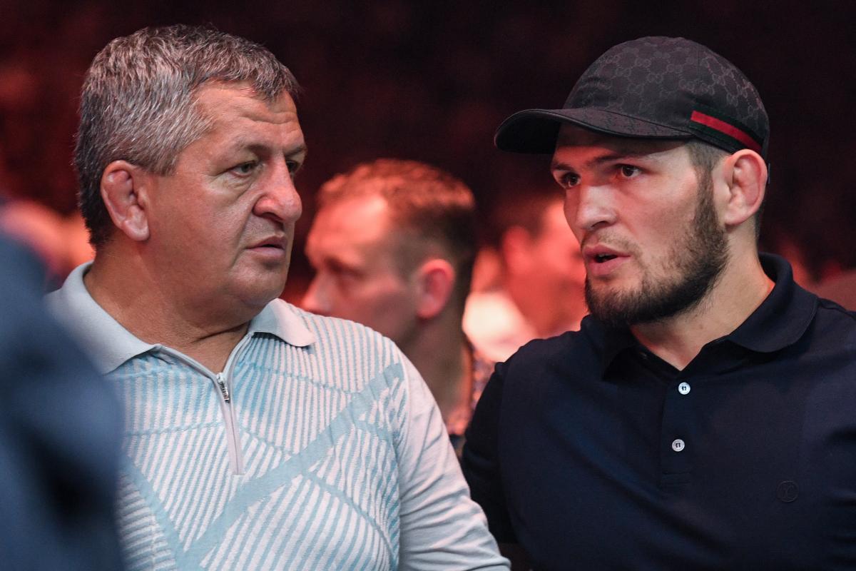 Абдулманап Нурмагомедов с Хабибом