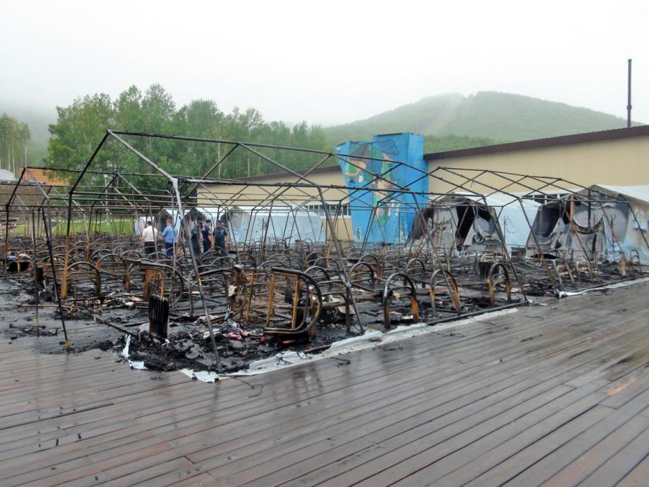 Новости России — В результате пожара в детском лагере в РФ погибли три девочки
