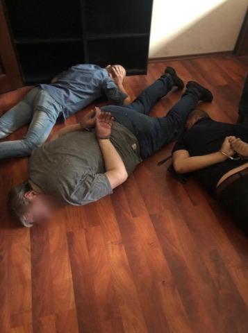 Задержаны трое злоумышленников / Фото пресс-службы прокуратуры